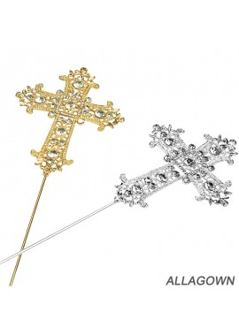 Diamond Cross European and American Wedding Cake Insert