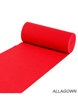 One Time Red Carpet Wedding Celebration Suitable for Indoor or Outdoor Party Decoration