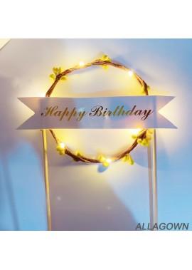 Birthday Wreath Headband 14CM