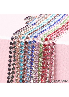 10pcs Rhinestone Chain Decorative Diamond