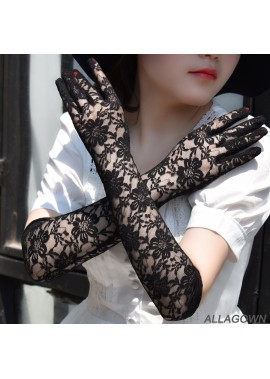 Lace Wedding Dress Gloves