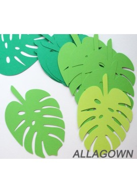 Party Theme Decoration Props Palm Leaves