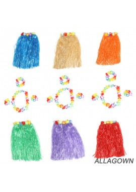 Aisy Belt Hawaiian Hula Garland 30CM Performance Costume Party