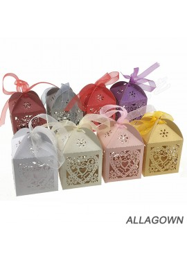 50pcs Mini Suitcase Favor Box Party Favor Candy Box Gift Box