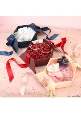 Hexagonal Gift Box Souvenir Creative Gift Box