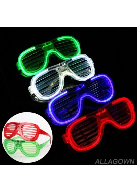 Red Blue Green White Blinds Cold Light Glasses 15.5X5.6X12.8CM