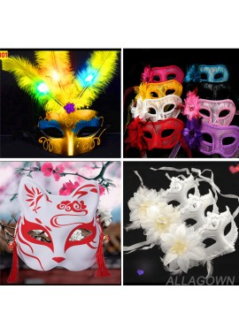Masquerade Mask Female Half Face