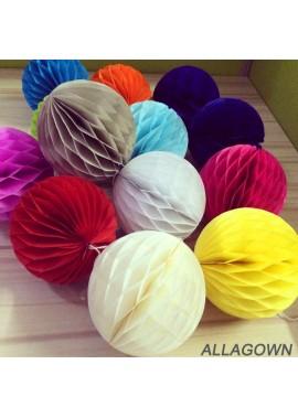 10PCS Color Honeycomb Ball Paper Lantern 8 Inchs