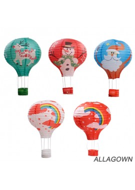 10PCS Paper Lantern Wedding Decoration Random Color 12Inch