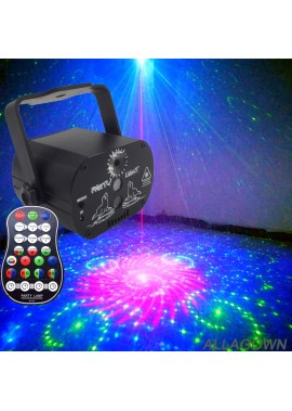 Mini Laser Light 60 Pattern USB Starry Sky Top