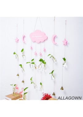 Wall Surface Wall Pendant Hydroponic Plant Vase Decoration The Star Is About 58CM Long