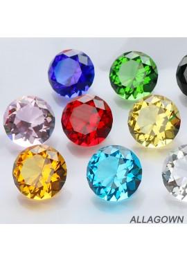 10pcs Crystal Diamond Creative Custom Color