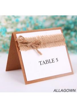 10PCS Wedding Seat Card Table Card 10*9CM