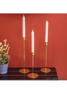 22*10CM Evening Table Wedding Soft Decoration Candlestick Ornaments