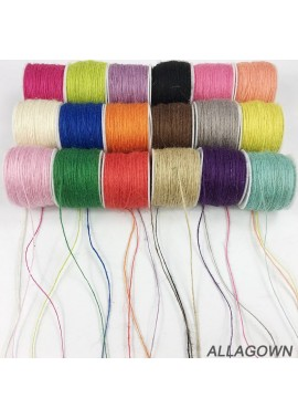 1 Roll Of Fine Twine 1 mm Color Twine The Thickness Is 1MM And The Length Is About 100M