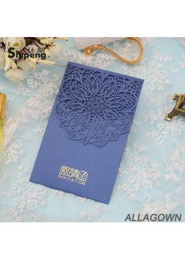 10pcs Chinese Wedding Invitation