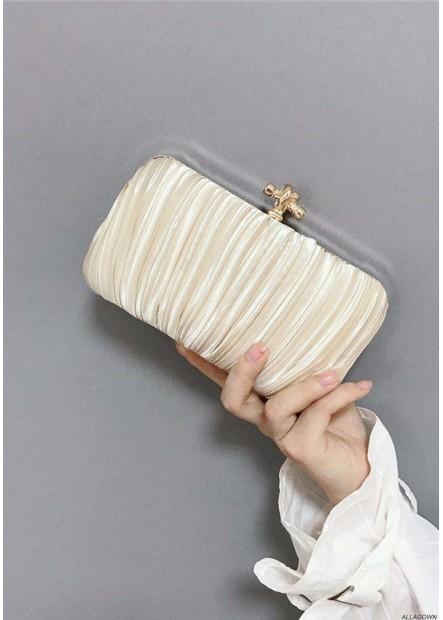 New Pleated Velvet Cloth Square Slung Dinner Handbags