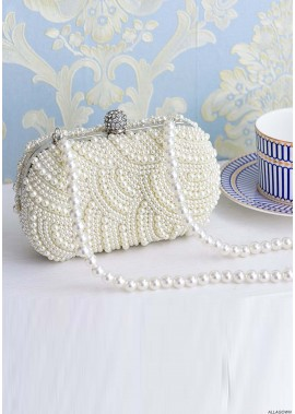 New Luxury Diamond-Set Pearl Handbags