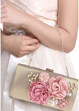 Flower Style With Super Good Texture Handbags