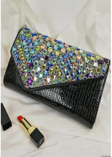 Fashion Large Capacity Rhinestones Handbags