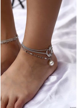 Simple And Versatile Anklets