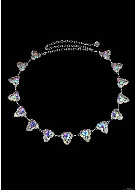 Color Diamond Waist Chains