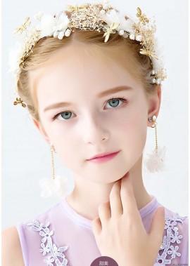 Beautiful Pearl Crystal Princess Tiaras