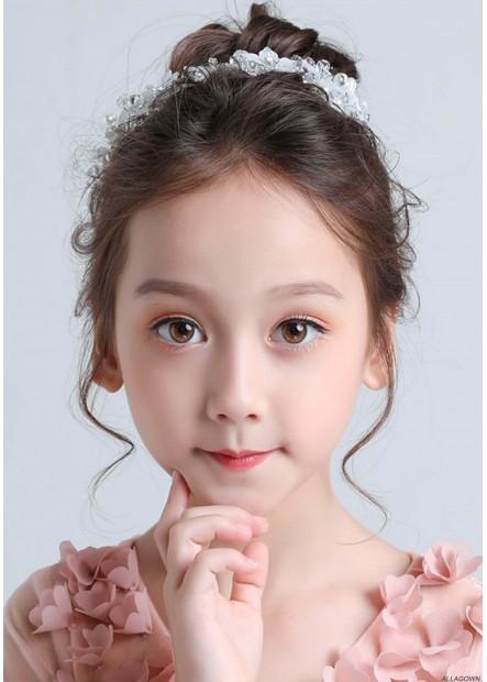 Simple Flower Girl Hair Accessories