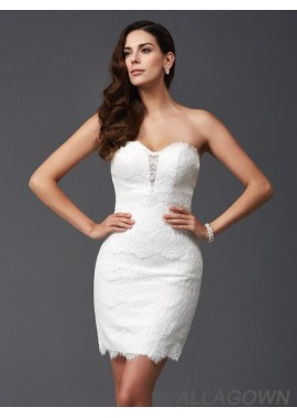 Allagown Sexy Short Homecoming Prom Evening Dress