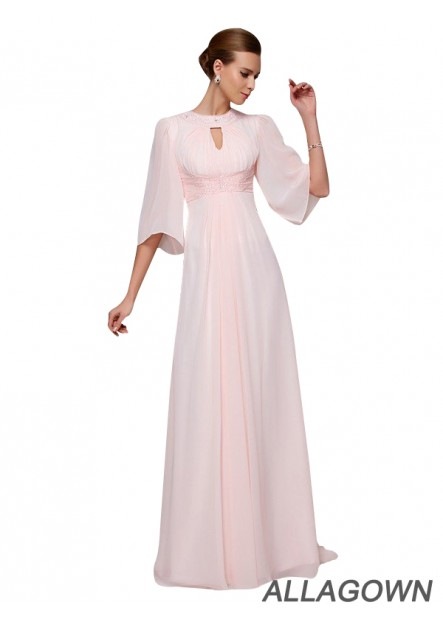 Allagown 2020 Cheap Mother Of The Bride and  Evening Dress For Wedding