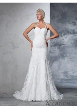 Allagown 2021 Lace Wedding Dress