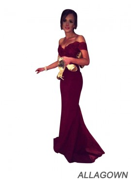 Allagown Sexy Discount Long Prom Evening Dress