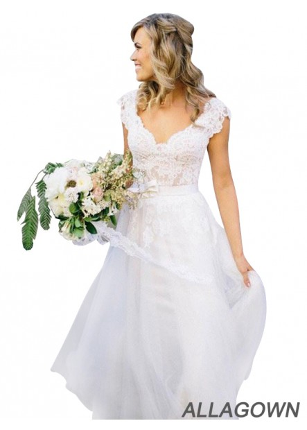 Allagown 2021 Reasonably Priced Wedding Dresses USA Online