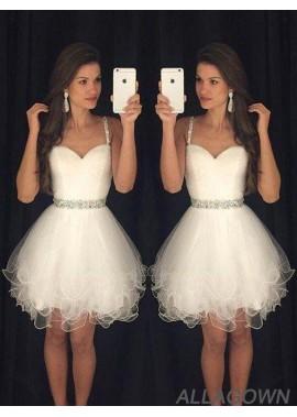 Allagown Short Wedding / Prom Evening Dress