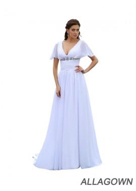 Allagown 2021 Beach Plus Size Wedding Dresses