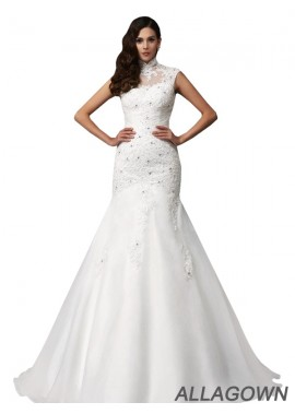 Allagown Cheap Ball Gowns Wedding Dress Size 22 For Sale