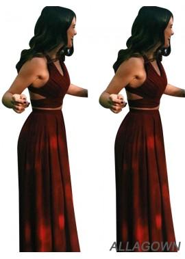 Allagown Best Long Prom Evening Dress