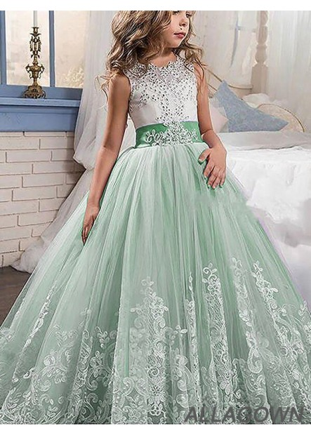 Allagown Cheap Flower Girl Dresses for Wedding