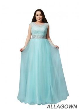 Allagown Sexy Plus Size Prom Evening Evening Dress