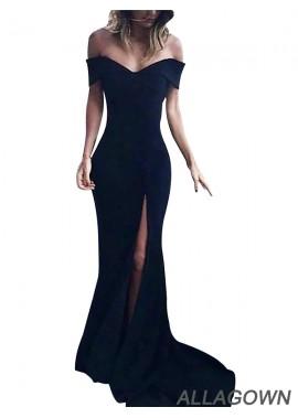 Black Long Prom Evening Formal Dresses For Women