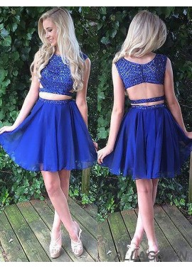 Allagown 2 Piece Homecoming Dress
