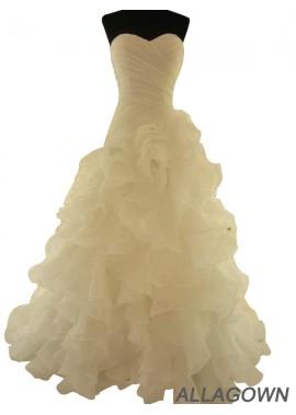 Allagown 2021 Beach Wedding Ball Gowns