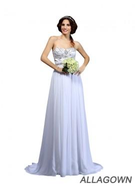 Allagown 2021 Beach Wedding Dresses