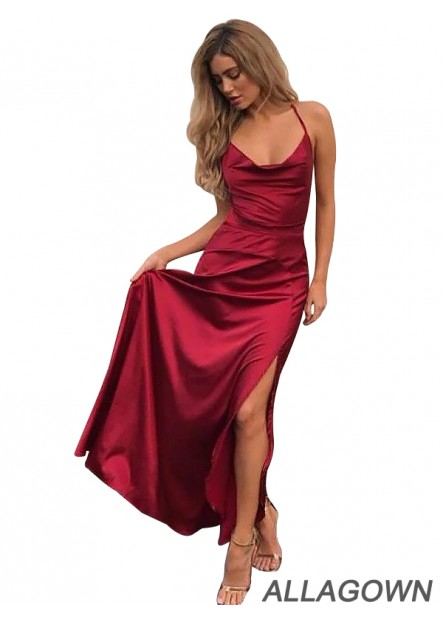 Allagown Online Women Long Prom Evening Dresses In USA