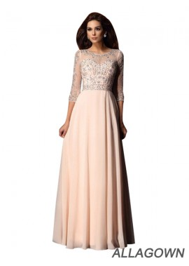 Allagown Sexy Long Prom Evening Dress