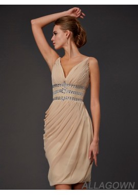 Allagown Short Homecoming Prom Evening Dress