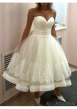 Allagown 2021 Short Plus Size Ball Gowns