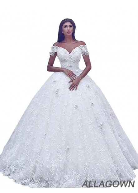 Allagown 2021 Swoon-worthy Ball Gowns For Wedding With High Quality
