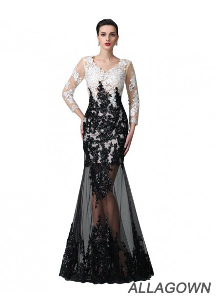 Allagown Sexy Prom Evening Dress