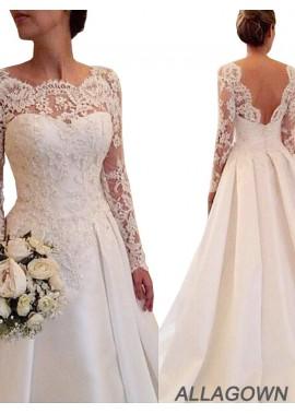 Allagown 2020 Wedding Dresses Cheap Sale